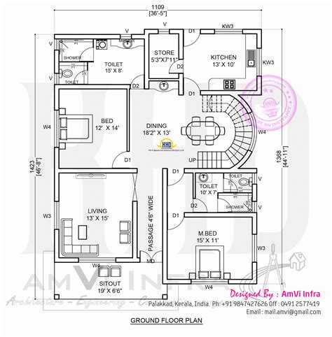 House Plans 5 Bedroom by Kerala Home Design And Floor Plans 5 Bedroom Contemporary