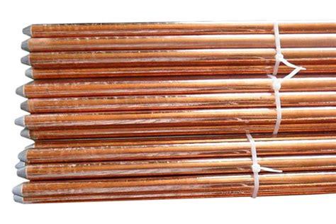 copper bonded earthing rod copper bonded earthing electrode