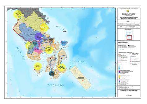 peta kawasan strategis provinsi sulawesi tenggara