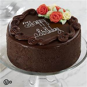 RECIPES BEST!: Chocolate Happy Birthday Cake
