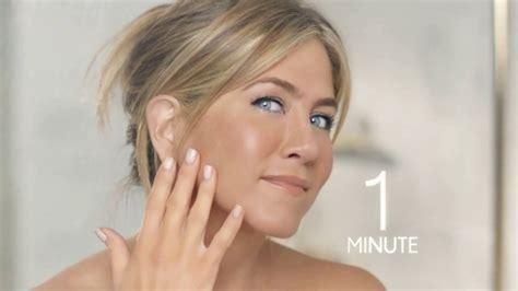 aniston shower aveeno positively radiant in shower tv commercial