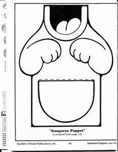 patronen voor papieren zak poppetjes on pinterest 48 pins With kangaroo puppet template