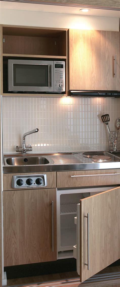 designer range  kitchenette  microwave  hob