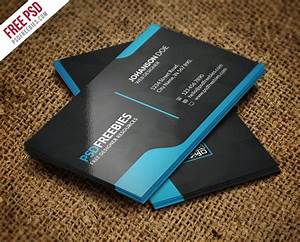 100 free business cards psd the best of free business cards for Business card psd template