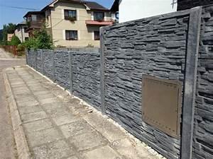 Betonové ploty oboustranné