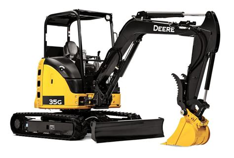 excavator  hp mini wthumb attachment backhoes