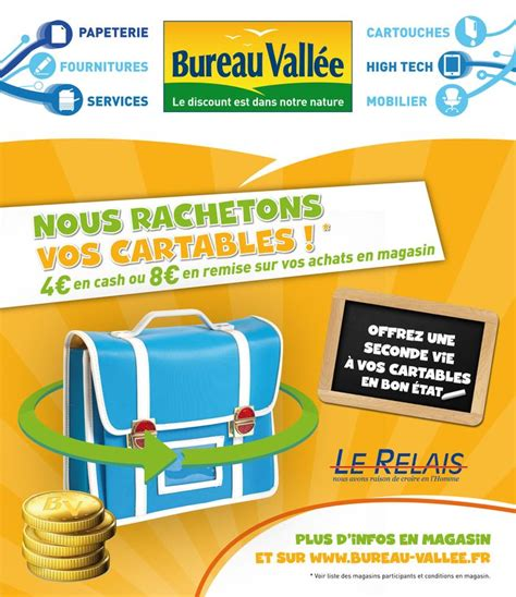 la vall馥 bureau franchise fournitures de bureau bureau valle recycle cartables et calculatrices