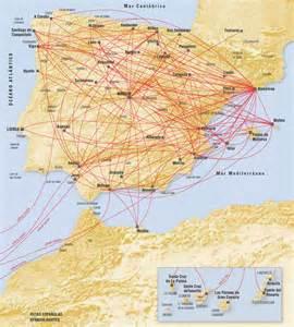 Iberia Europe Route Map