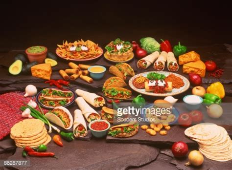 id馥s cuisines food spread stock photo getty images