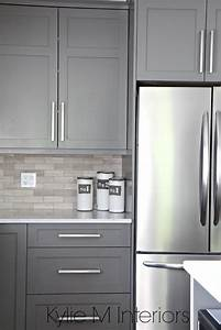 the 3 best gray and greige colours for cabinets and vanities With kitchen colors with white cabinets with gold lips wall art