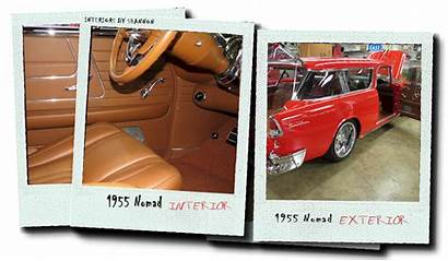 Chevy 1955 Interiors Leather Custom 1957