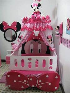 Minnie mouse baby bedroom (photos and video
