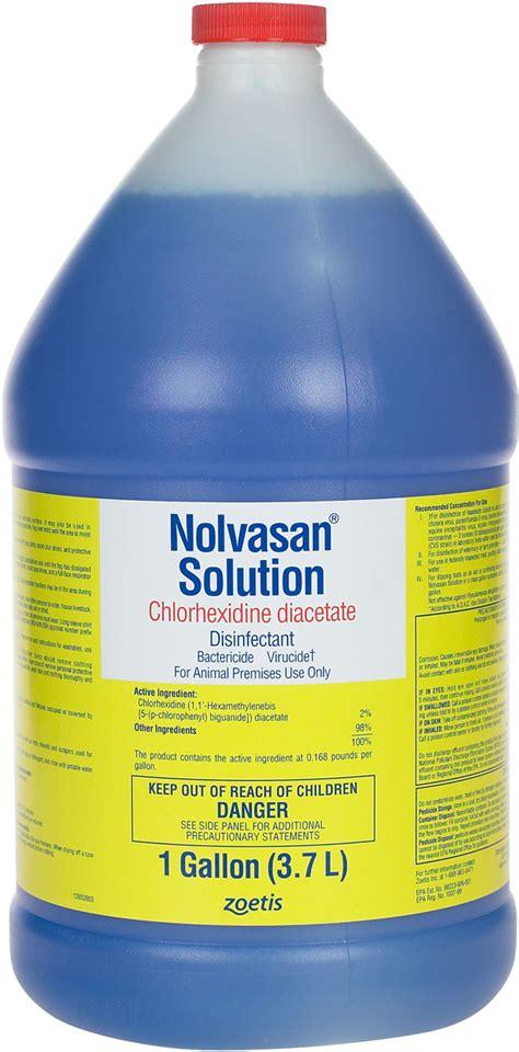 nolvasan solution animal premise chlorhexidine diacetate