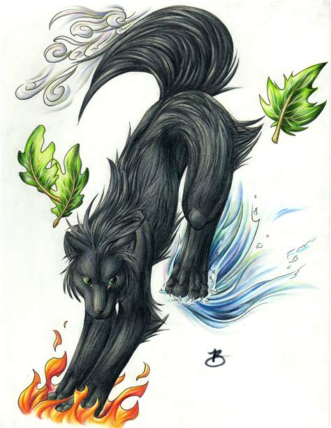 Pictures of Elemental Wolf - #catfactsblog