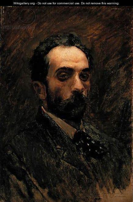 Self Portrait, 1890s - Isaak Ilyich Levitan - WikiGallery ...