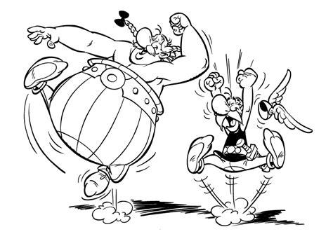 Dessin Asterix Et Obelix En Ligne