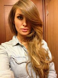 Caramel Brown with Blonde Hair Color