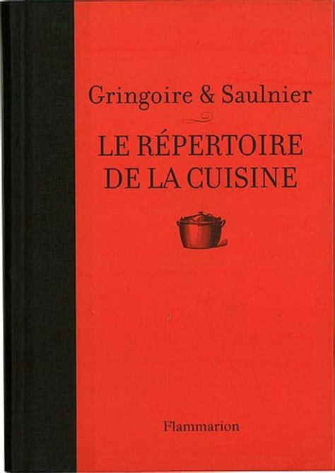 le repertoire de la cuisine le répertoire de la cuisine meilleurduchef com