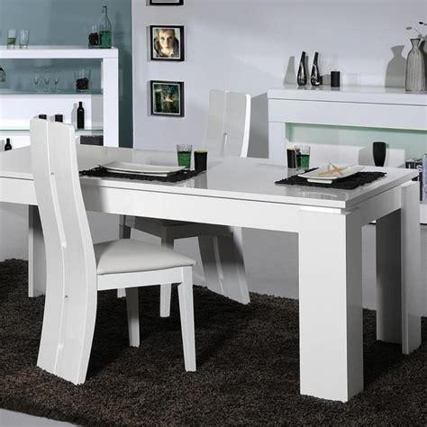 ensemble table et chaise salle a manger floyd ensemble table à manger 4 chaises de salle à manger laqué blanc achat vente table