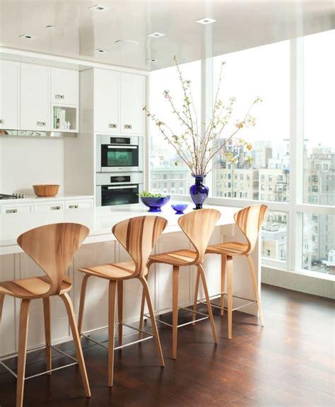 chaise de cuisine style bistrot chaises bistrot pour un îlot de cuisine moderne et confortable