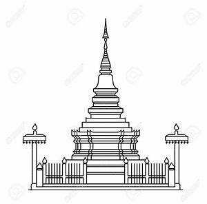 Pagoda temple clipart - Clipground