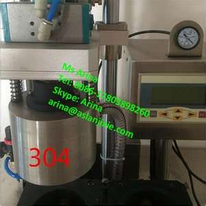 industrial glass bottle lid capping machineglass  lid closing machine glass jar lid closing