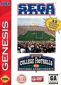 Play College Football's National Championship Sega Genesis ...