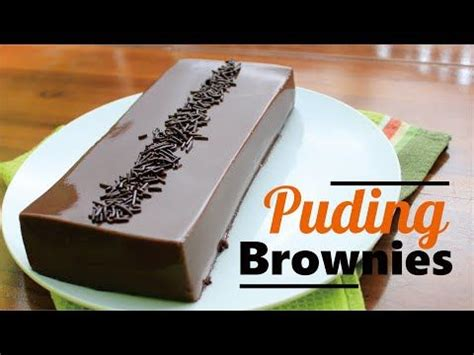 Demikian resep dan cara membuat puding tiramisu yang lembut, lezat dan lumer. Resep Puding Brownies Roti Tawar Super Lembut - YouTube | Cooking recipes desserts, Dessert ...