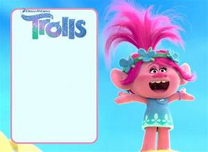16 Free Printable Trolls Invitation Templates Free