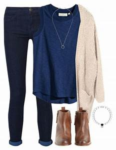 Navy Blue Sweater Outfit Ideas - Sweater Vest