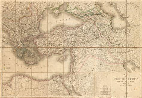Carte De L Empire Ottoman by Carte De L Empire Ottoman En Europe Asie Et Afrique
