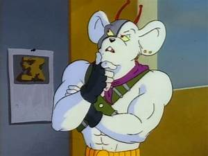 Biker Mice From Mars Vinnie - Pics about space