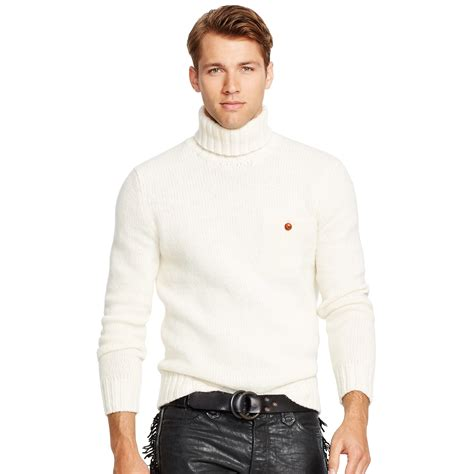 mens wool turtleneck sweater polo ralph merino wool turtleneck sweater in