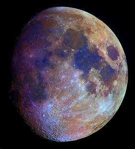 APOD: 2006 February 16 - The Color of the Moon