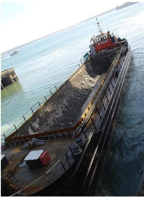 split hopper barges  propelled  zealand