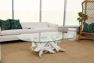 white driftwood coffee table image 5 With white driftwood coffee table
