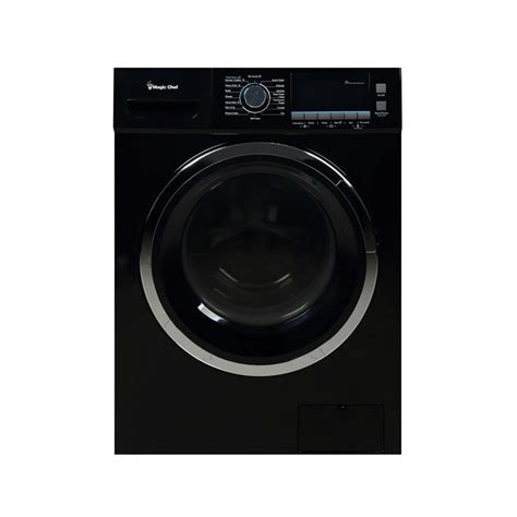 black washer and dryer magic chef 2 0 cu ft all in one washer and ventless