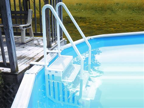 escalier int 233 rieur en r 233 sine pour piscine hors sol 27190