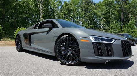 audi r8 2018 2018 audi r8 v10 plus start up exhaust test drive and review