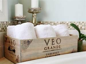 decoration ecologique avec une ancienne caisse bois With salle de bain design avec décoration de buche de noel comestible