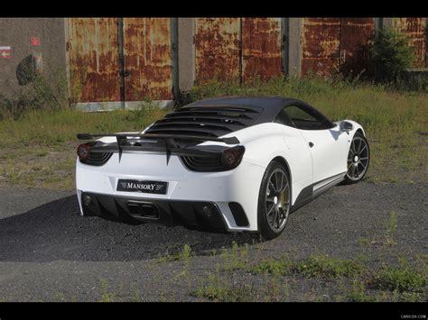 2018 Mansory Siracusa Based On Ferrari 458 Italia Rear