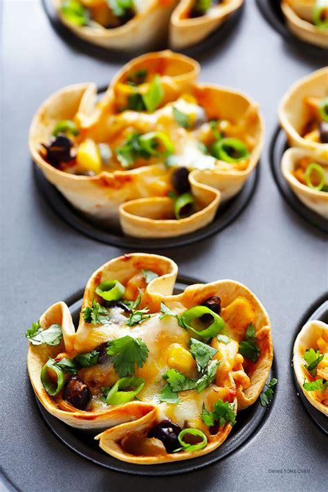 easy enchilada cups snack appetizer recipes