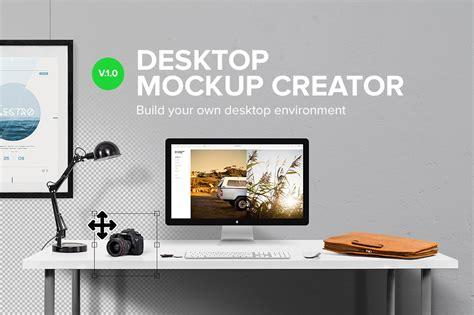 desktop mockup creator scene creator mockups creative