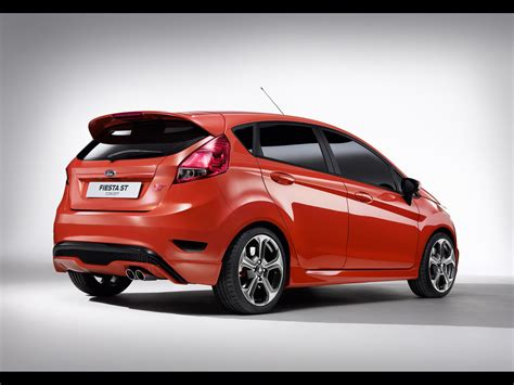 2018 Ford Fiesta St Concept Rear And Side 1920x1440