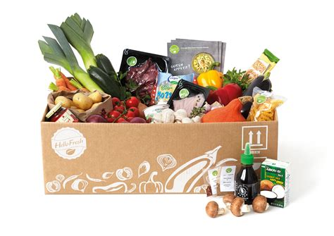 box cuisine hellofresh the future of food comes in a cardboard box