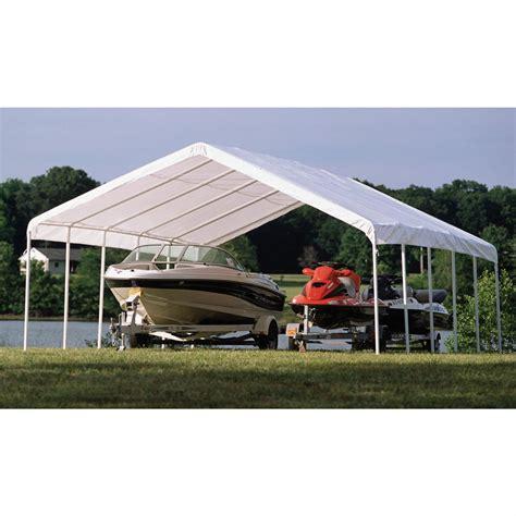 outdoor shelterlogic assembly instructions shelterlogic  garage shelterlogic