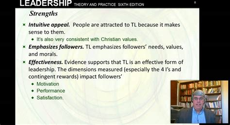 transformational leadership northouse  ed ch  youtube