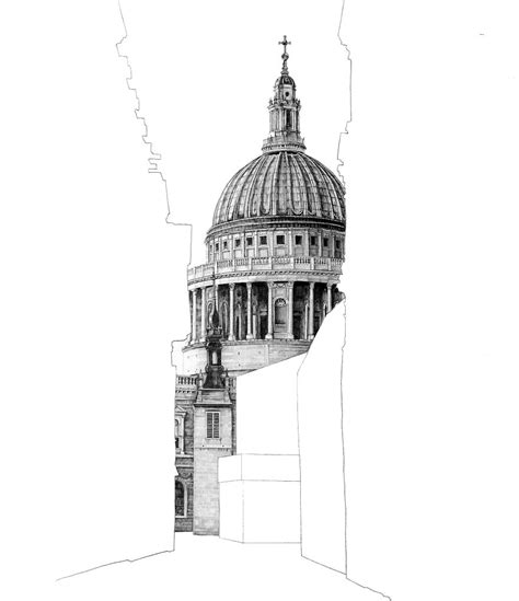 Mind Blowing Sketches Of Famous Uk Buildings Pencils