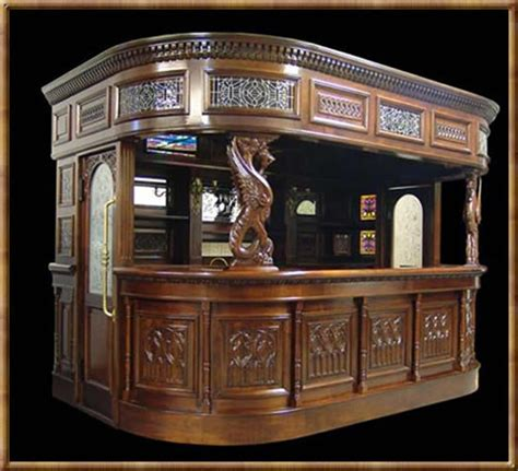 antique pub for home pub bar or covered tavern bar with from 4126
