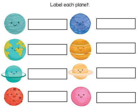 Kindergarten Worksheets  Free Solar System Workbook  Slap Dash Mom
